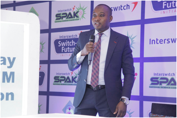 Marketing Manager Interswitch Group Limited, unveiling the Switch-a-Future Initiative Project